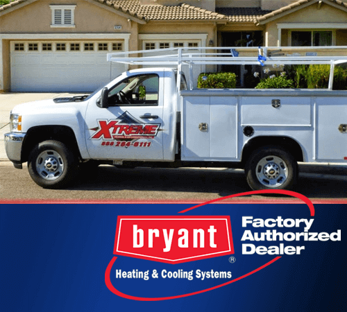 Bryant Factory Authorized Dealer Serving Riverside County, CA