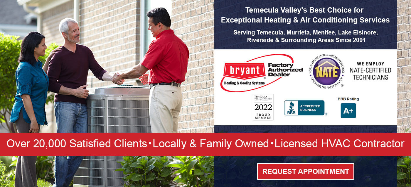 Locally and Family Owned HVAC Company Temecula, CA